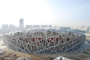 The Beijing Panda Fireworks (Group) Holding Co Ltd has developed a Bird's Nest-named fireworks product