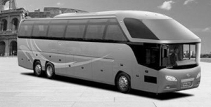 Zhongwei is accused of copying  Neoplan Bus GmbH's bus design
