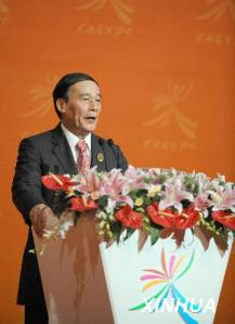 Vice Premier Wang Qishan called for a fairer IPR system