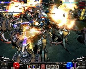 Webzen's online role-playing game MU